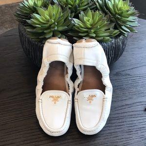 Prada driving loafers